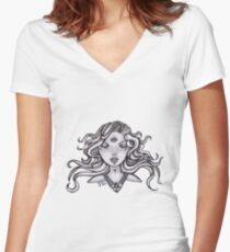 divination Women's Fitted V-Neck T-Shirt