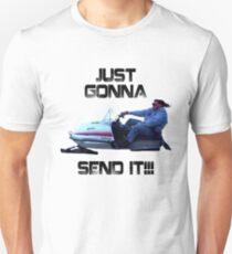 Just Gonna Send it Larry Enticer Meme Tee Shirt Unisex T-Shirt