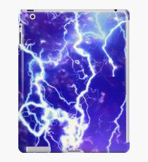 lightening strikes iPad Case/Skin