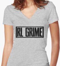 RL GRIME Women's Fitted V-Neck T-Shirt