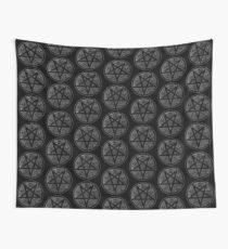 eVIL pENTAGRAM , bLACK mETAL sATANIC t-SHIRT,oCCULt  FAShIOn Wall Tapestry