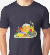 Chicken and easter eggs T-Shirt