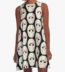 Jason Voorhees Mask / Friday the 13th A-Line Dress