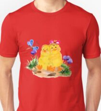 Two chickens Unisex T-Shirt