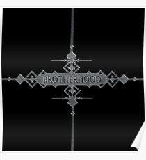 Brotherhood concept. Poster
