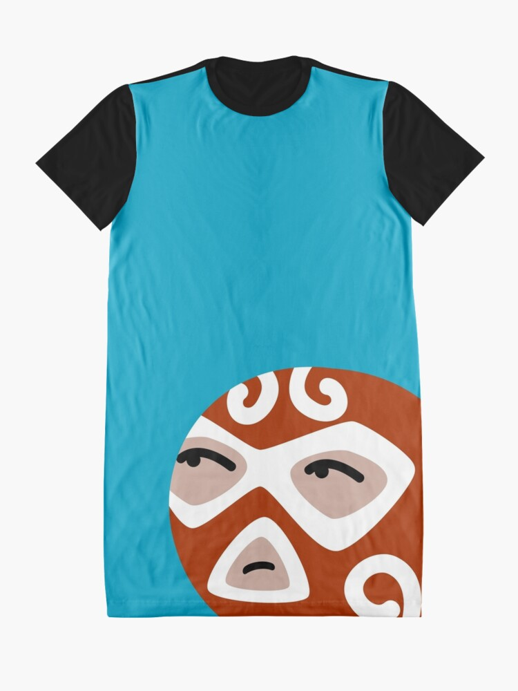 Alternate view of Luchador Graphic T-Shirt Dress