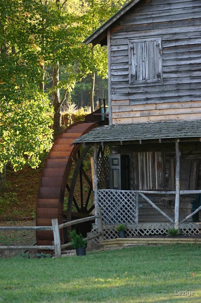 Carolina Grist Mill by Lezlye