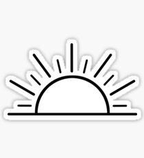 Sunset/Sunrise Sticker