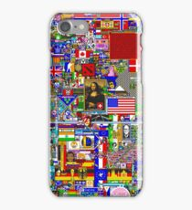 Reddit r/Place 10K Official r/TheFinalClean Cleaned Version – FINAL Revision (With Void) iPhone Case/Skin