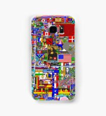 Reddit r/Place 10K Official r/TheFinalClean Cleaned Version – FINAL Revision (With Void) Samsung Galaxy Case/Skin