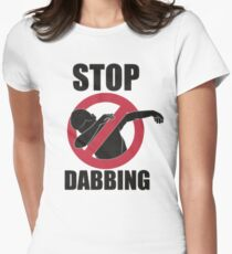 Stop Dabbing Lil Dicky Pillow Talking Women's Fitted T-Shirt