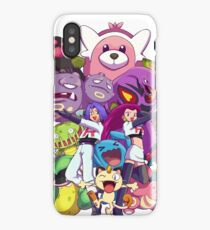 Team Rocket - Past & Present iPhone Case/Skin