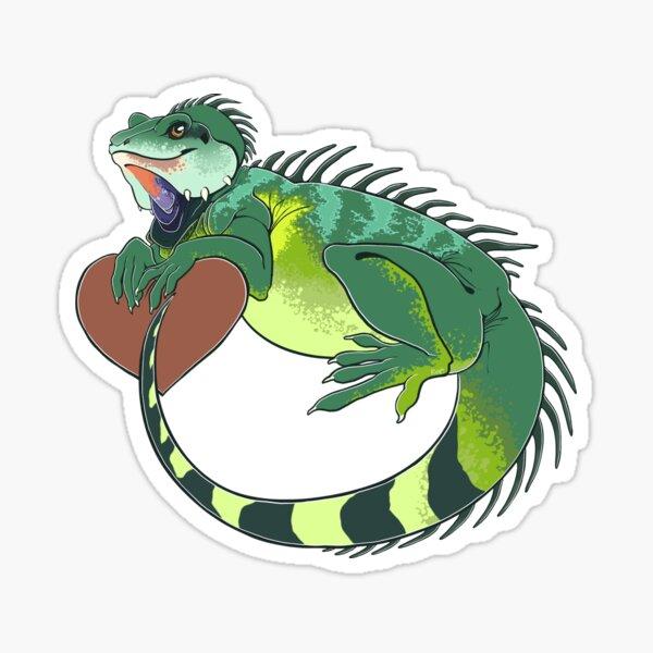 Chinese Water Dragon Love Sticker