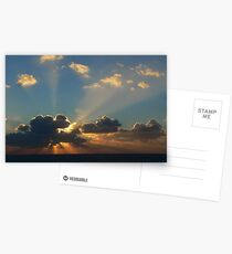 Alghero Sunset Postcards