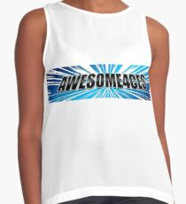 Awesome4ces Logo Contrast Tank