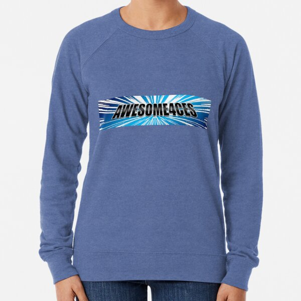 Awesome4ces Logo Lightweight Sweatshirt