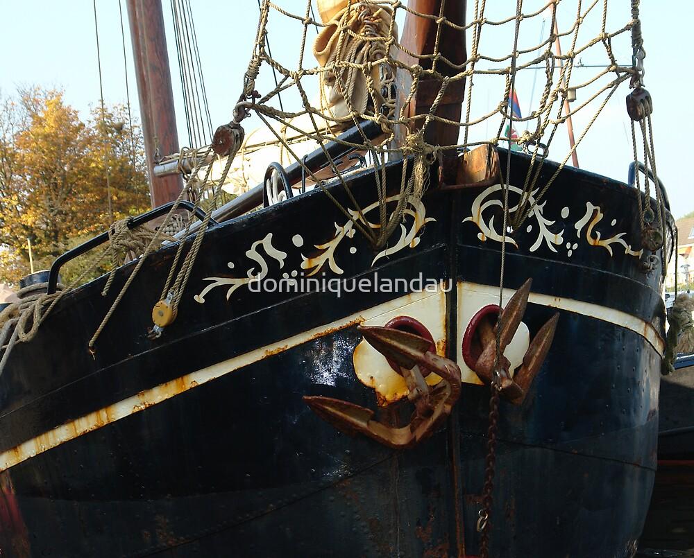 dutch boat by dominiquelandau