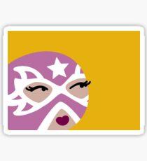 Luchadora Sticker