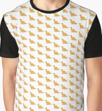 Dinosaur Chicken Nugget Graphic T-Shirt