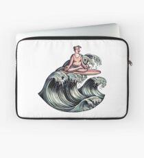 Surfing Meditation Laptop Sleeve