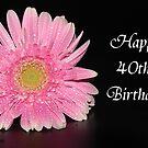 Happy 40th Birthday by ~ Fir Mamat ~