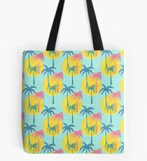 Retro Palms Tote Bag