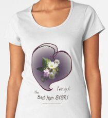 wildflower, Best Mum EVER! heart Women's Premium T-Shirt