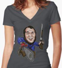 Jackfelgar Women's Fitted V-Neck T-Shirt