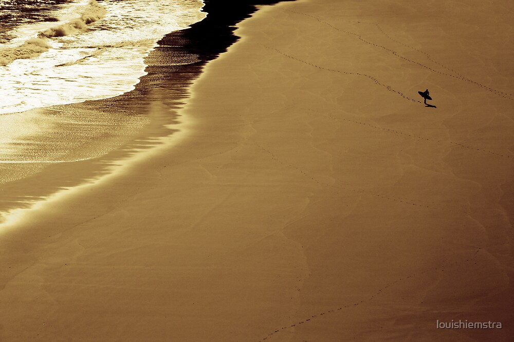 The surfer's path by louishiemstra