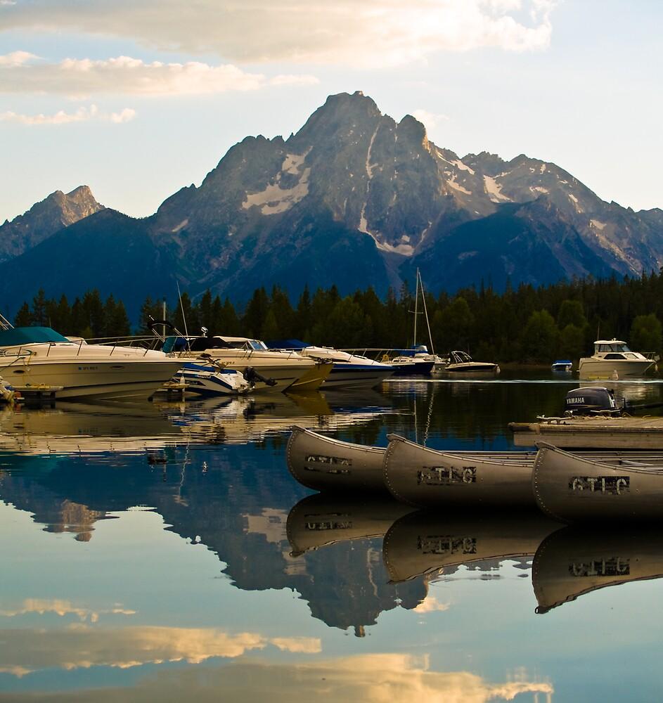 Mountain Marina II by Mike Needham
