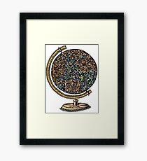 Global Workforce Framed Print