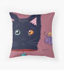 Kitty Puddles Pillow!  Throw Pillow