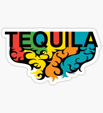 Tequila Rules Sticker