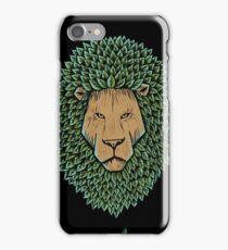 Lion Wood iPhone Case/Skin