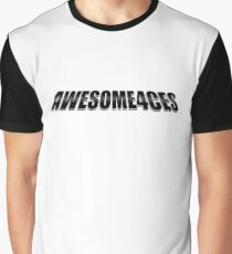Awesome4ces Logo (Simple) Graphic T-Shirt