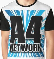 A4 Network Graphic T-Shirt
