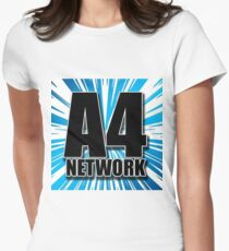 A4 Network Women's Fitted T-Shirt