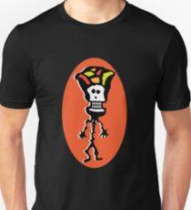 Skeleton with a Fruit Hat Unisex T-Shirt
