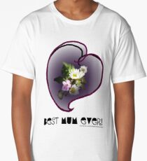 wildflower, Best Mum EVER! heart quirky Long T-Shirt