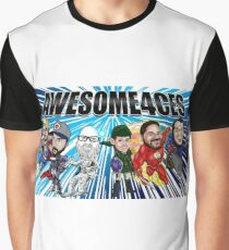 Team Awesome4ces! Graphic T-Shirt