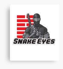 Snake Eyes — G.I. Joe Canvas Print