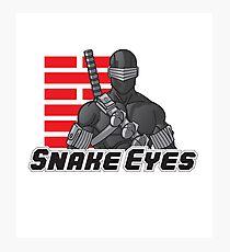 Snake Eyes — G.I. Joe Photographic Print