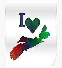 I Love Nova Scotia Poster