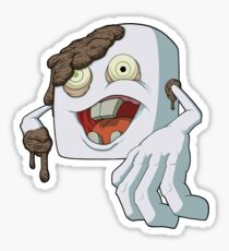 Zombie Marshmallow Sticker