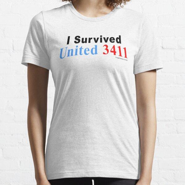I Survived United 3411 Essential T-Shirt