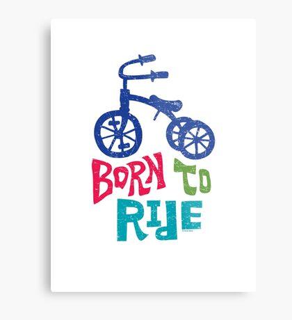 Born To Ride Metal Print