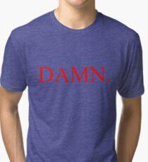 Kendrick Lamar - DAMN. Tri-blend T-Shirt