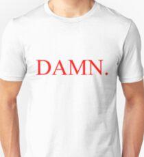 Kendrick Lamar - VERDAMMT. Slim Fit T-Shirt