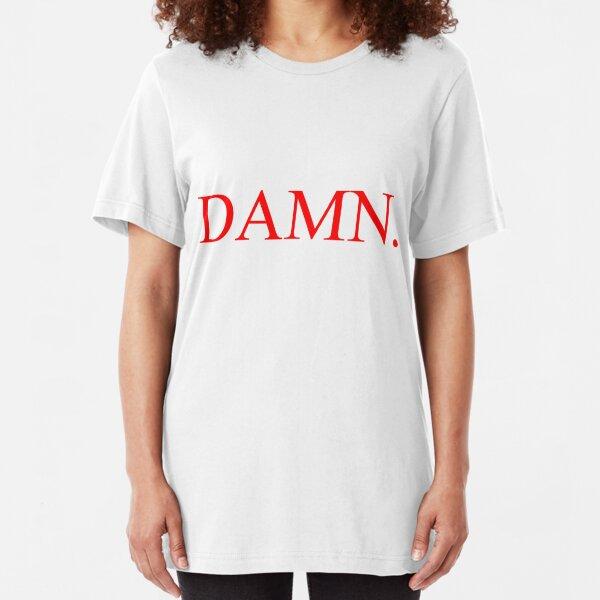 Kendrick Lamar - DAMN. Slim Fit T-Shirt