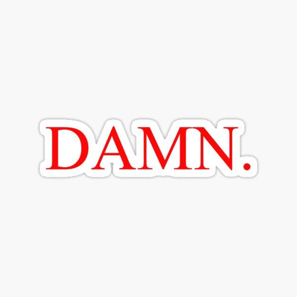 Kendrick Lamar - DAMN. Sticker